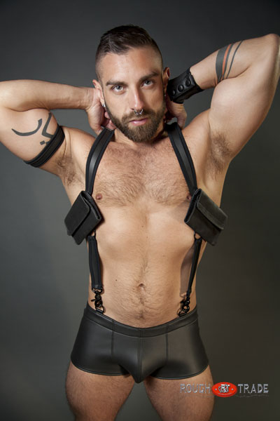 gay men in swimming trunks